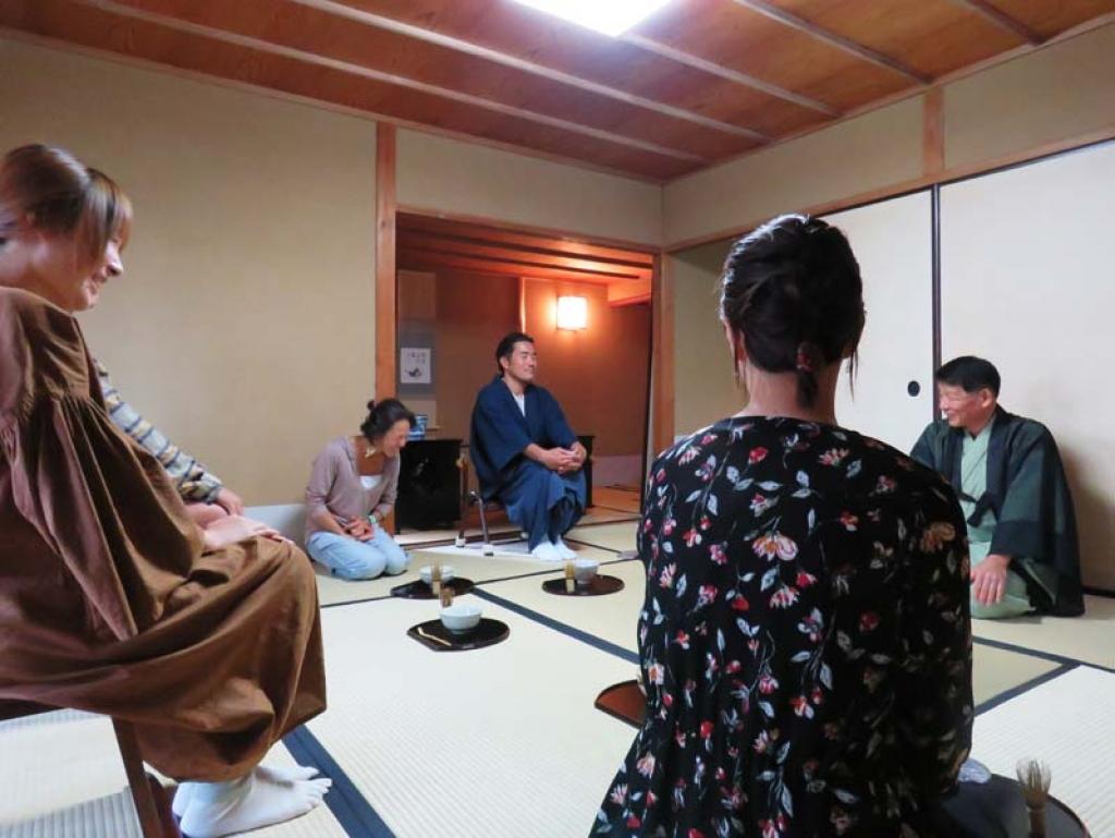 館山で茶道体験